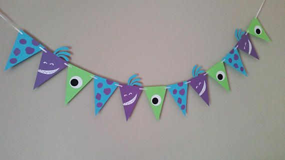 Monsters Inc. Banner Monsters Inc. Birthday Monsters Inc.