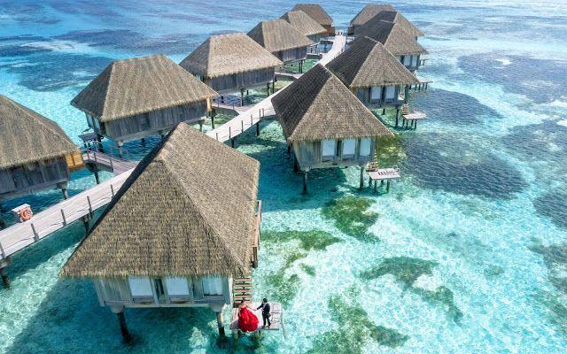 معلومات ستسمع عنها لأول مرة عن أجمل جزر في العالم المالديف Overwater Bungalows Maldives Island Beautiful Beaches