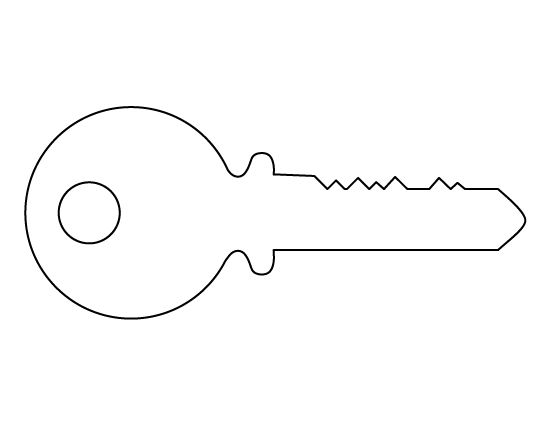 key clipart template - photo #25
