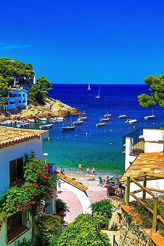 Sa Tuna Beach - Begur, Costa Brava, Girona, Catalonia.