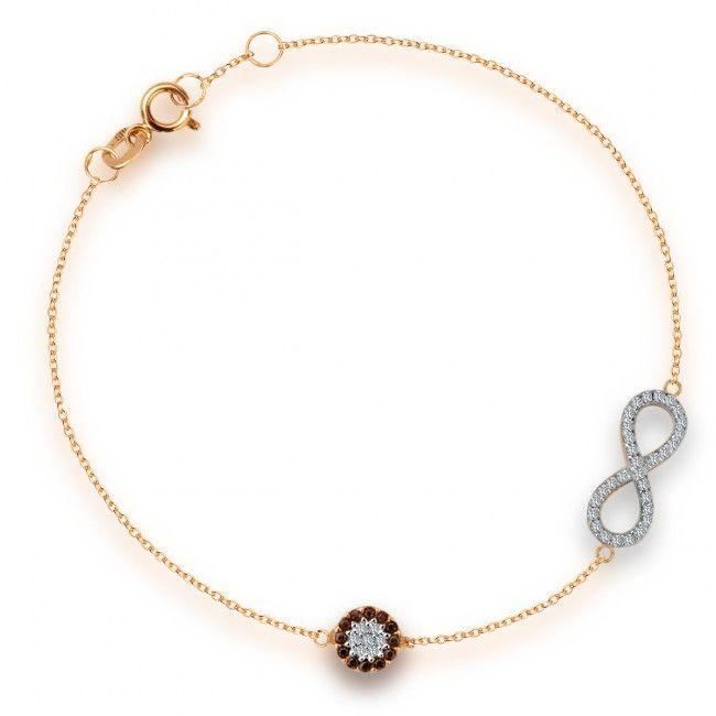Złota Bransoletka z cyrkoniami, 449 PLN, www.Bejewel.me/zlota-bransoletka-z-cyrkonia-410 #jewellery #gold #bejewelme #bjwlme #shoponline #accesories #pretty #style