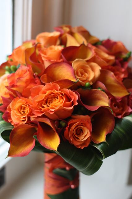 Love this bright bold bouquet :) x