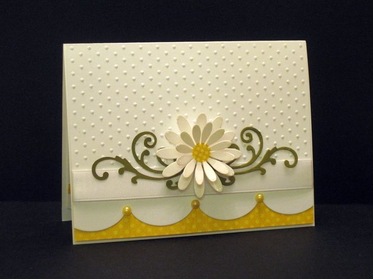 One Daisy! by ctorina - Cards and Paper Crafts at Splitcoaststampers