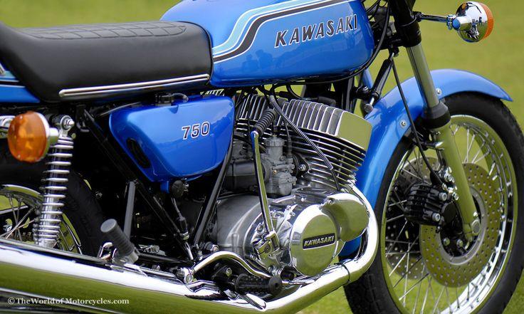 vintage kawasaki triples | Vintage Kawasaki Motorcycles | 750 H2 & Mach III, Mach IV Triple FASTEST THING EVER AT THE TIME...