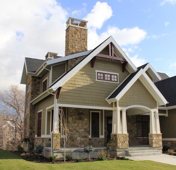 52 best TraditionalContemporary Style Homes Exterior Edition