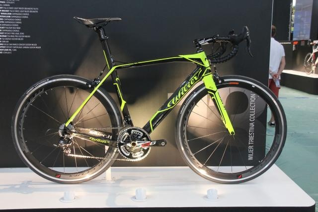 Wilier Cento Uno Fluo Yellow:  Off-Road