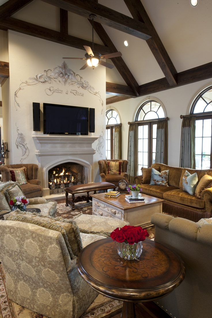Elegant Family Room   Traditional Style   Family Room / Living Room
