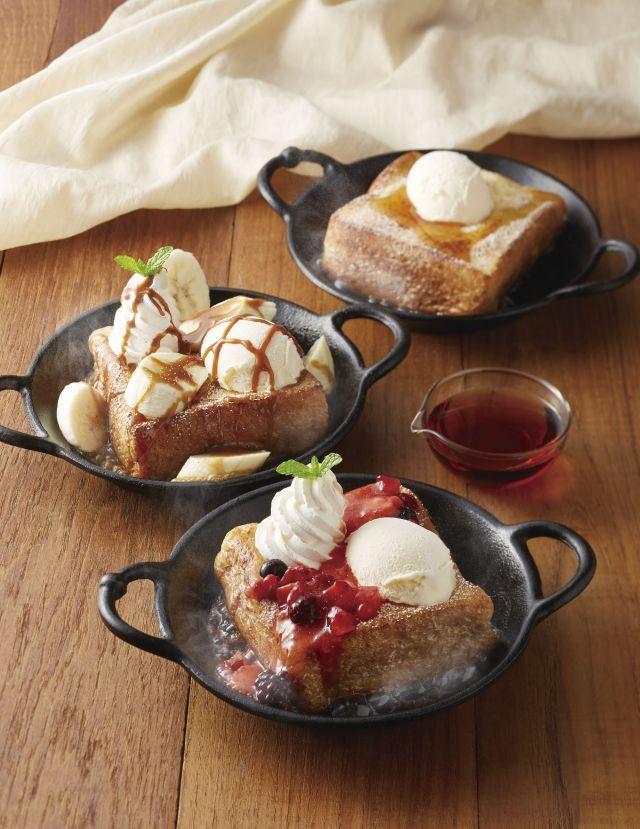 画像1 : ジョナサンで人気の『ふわとろフレンチトースト』に新テイストが限定登場! │ macaroni[マカロニ]