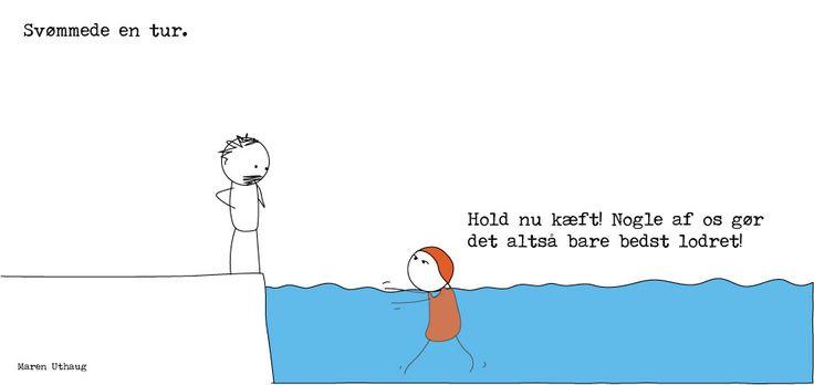 Maren Uthaug - Svømmede en tur