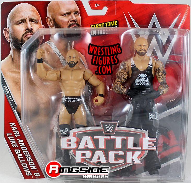 Luke Gallows & Karl Anderson - WWE Battle Packs 46