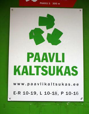Kirpputoreja Tallinnassa