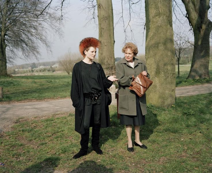 Martin Parr - A Mother and a Daughter, Wales (The Cost of Living)