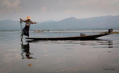 Un lugar imprescindible en Birmania: el lago Inle presentado por Paco Nadal