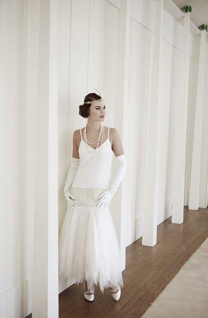 mariages r tro robes de mari es style ann es 20 30 robe mari e et costume pinterest. Black Bedroom Furniture Sets. Home Design Ideas