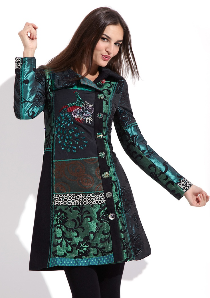 always the most perfect coat (desigual does everything best)