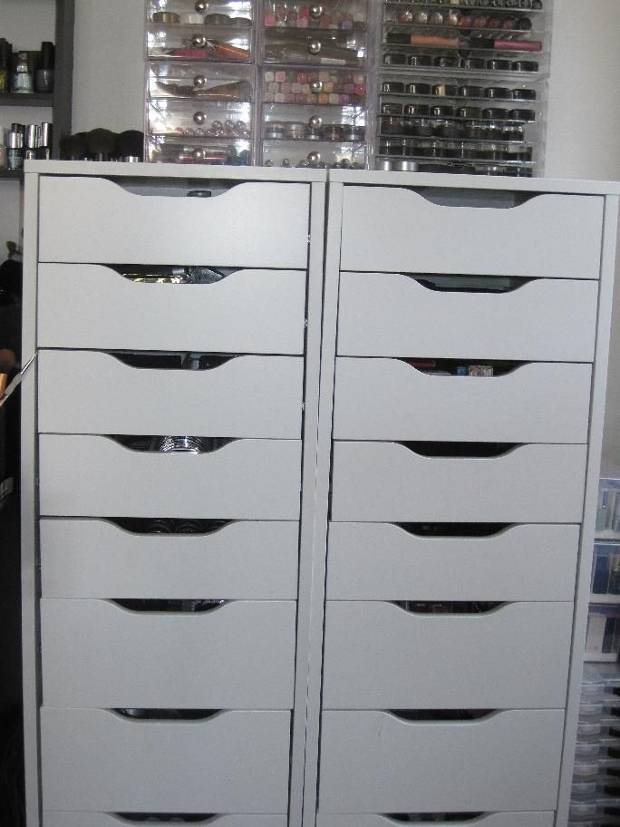 129 best images about make up storage on pinterest Makeup drawer organizer ikea