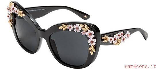 Occhiali da Sole Dolce Gabbana Limited Luxury Edition Nero dg4230 501/87 a buon mercato
