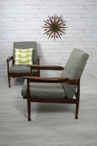 Guy Rogers Midcentury Restored Armchair. Http://www.ebay.co.