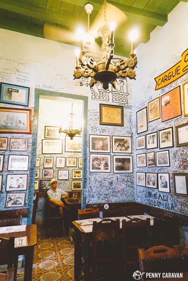 La Bodeguita del Medio, birthplace of the mojito and former hangout of Ernest Hemingway | Havana, Cuba