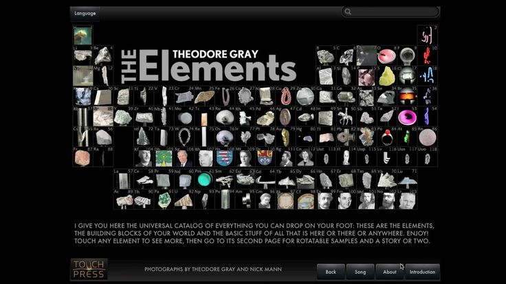 9 best periodic table of the elements images on pinterest periodic the elements for your mac includes spectacular reactions videos downloaded more than 850000 times urtaz Gallery