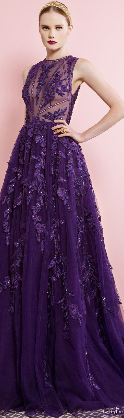 //Georges Hobeika Fall 2016 RTW #fashion #womenswear #couture