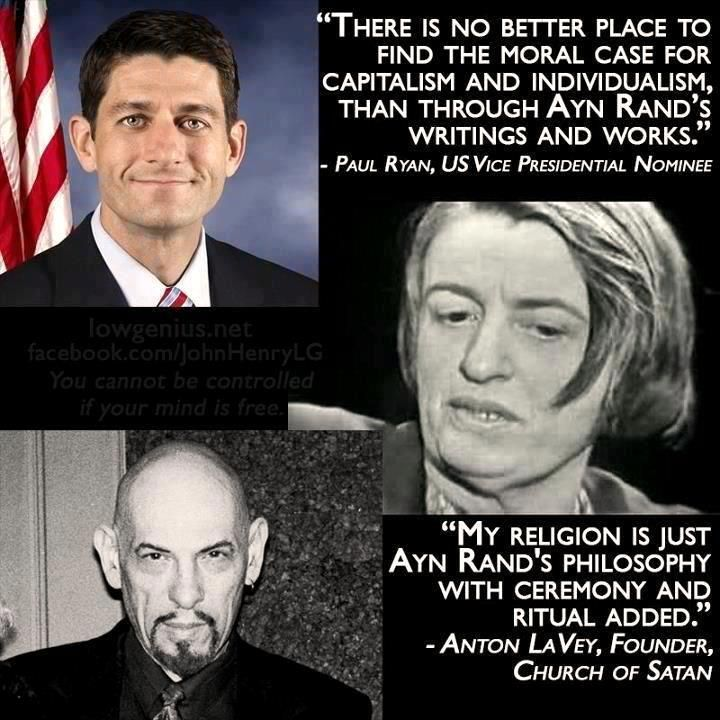 Ayn Rand/Paul Ryan ~ The author Ayn Rand Attempted a Positive Moral Defense of Laissez-faire Capitalism as such but in Highly Romantic or Literary Terms that Did Not Stand Logical or Historical Scrutiny. ~ The Journal of Ayn Rand Studies 7 (2): 329–349.