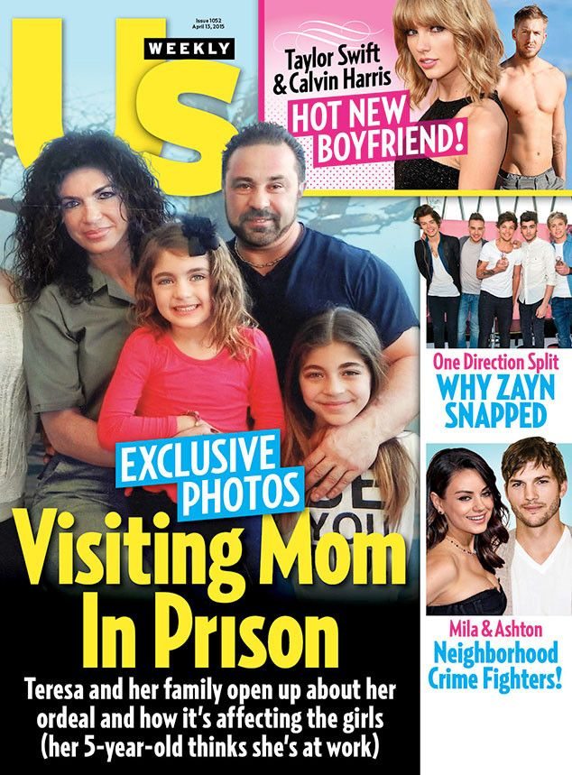 Teresa Giudice Gives Her First Interview From Prison—Plus, See What the Real Housewives Star Looks Like Now!  Teresa Giudice, Joe Giudice, Us Weekly