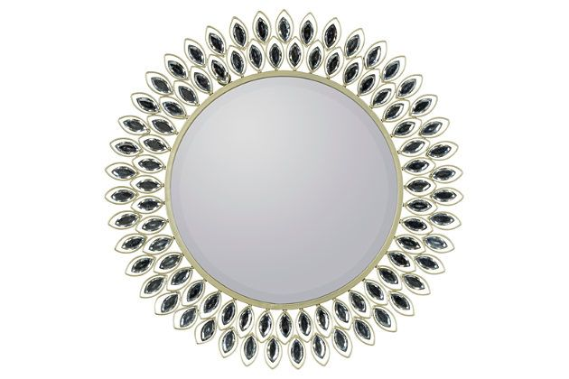 Metallic Home Accents Accent Mirror View 1