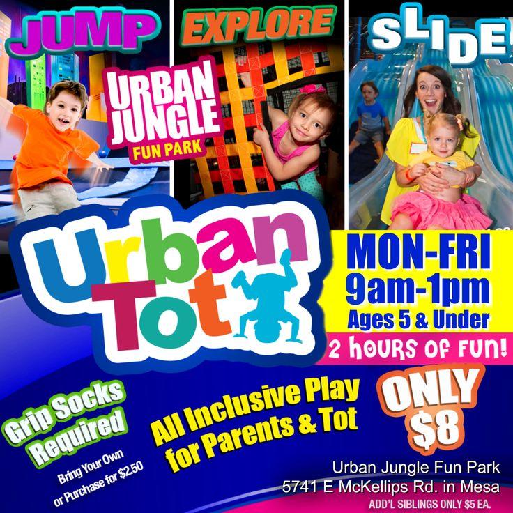 URBAN JUNGLE FUN PARK 2,3,4,5 Year Old Birthday Parties