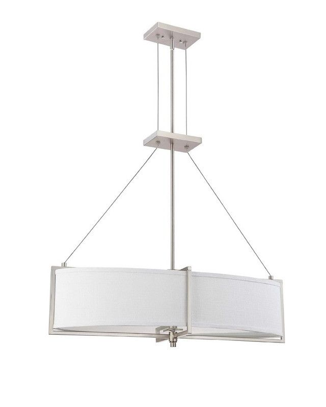 Nuvo Lighting 60-4347 Portia Collection Oval Four Light