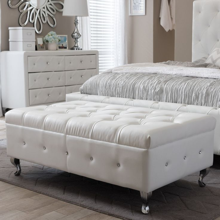 White Bedroom Bench #20: 1000+ Ideas About Modern Bedroom Benches On Pinterest | Living Room Bench, Bedroom Benches And Modern Offices