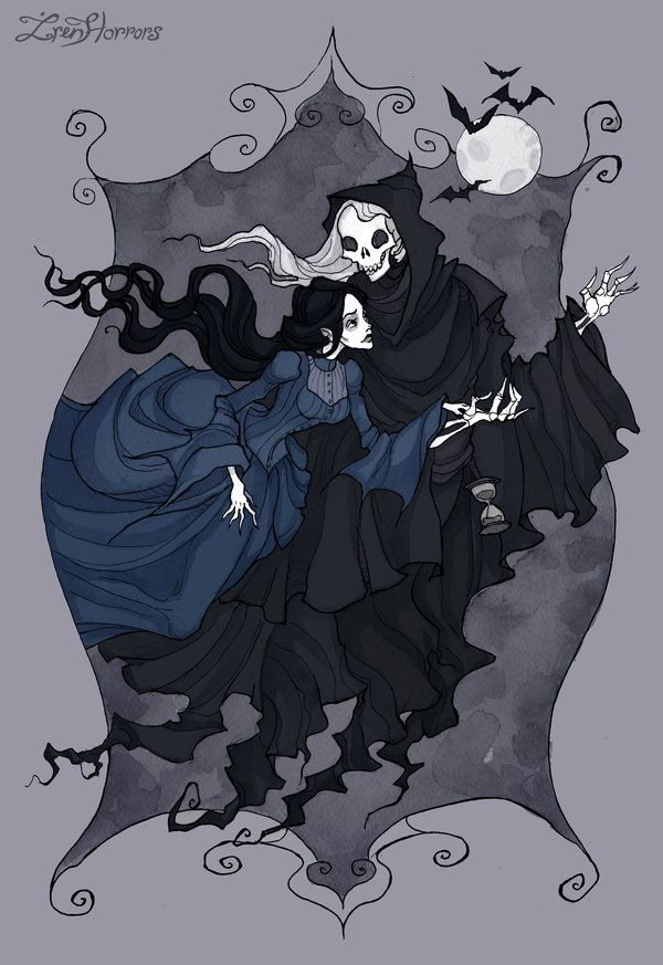 Annabel Lee II by IrenHorrors.deviantart.com on @DeviantArt