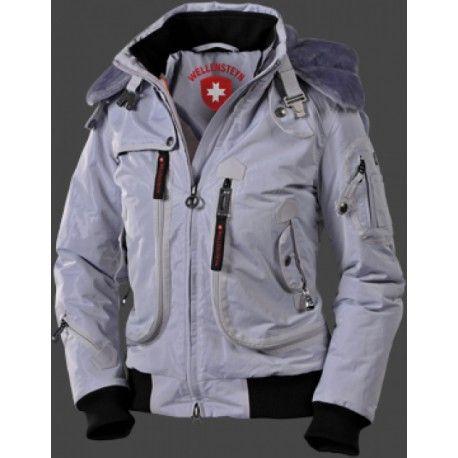 Damenjacke - Wellensteyn Rescue Jacket RainbowAirTec eine coole, trendige, kurz geschnittene Multifunktions-Jacke mit drei Taschen außen, wie zwei Innentaschen.   Modell enthält nichttextile Teile tierischen Ursprungs.
