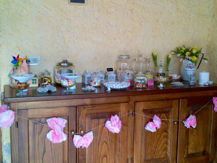 Candy bar Battesimo Rebecca