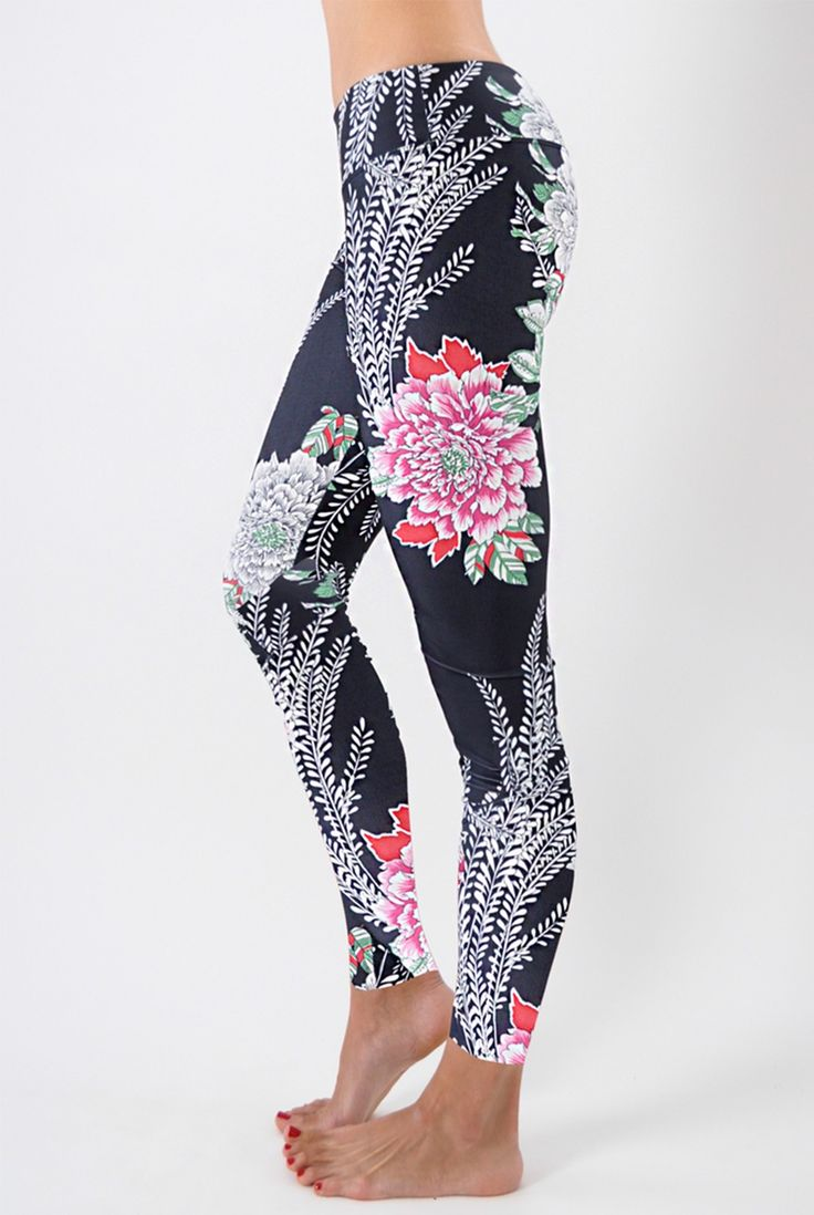 These are a must have right now! Get this new floral print SUP Yoga leggings today.