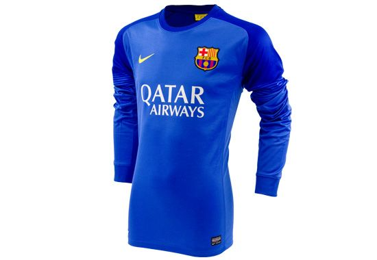 2013/14 Nike FC Barcelona Goalkeeper Jersey...Available at SoccerPro now!