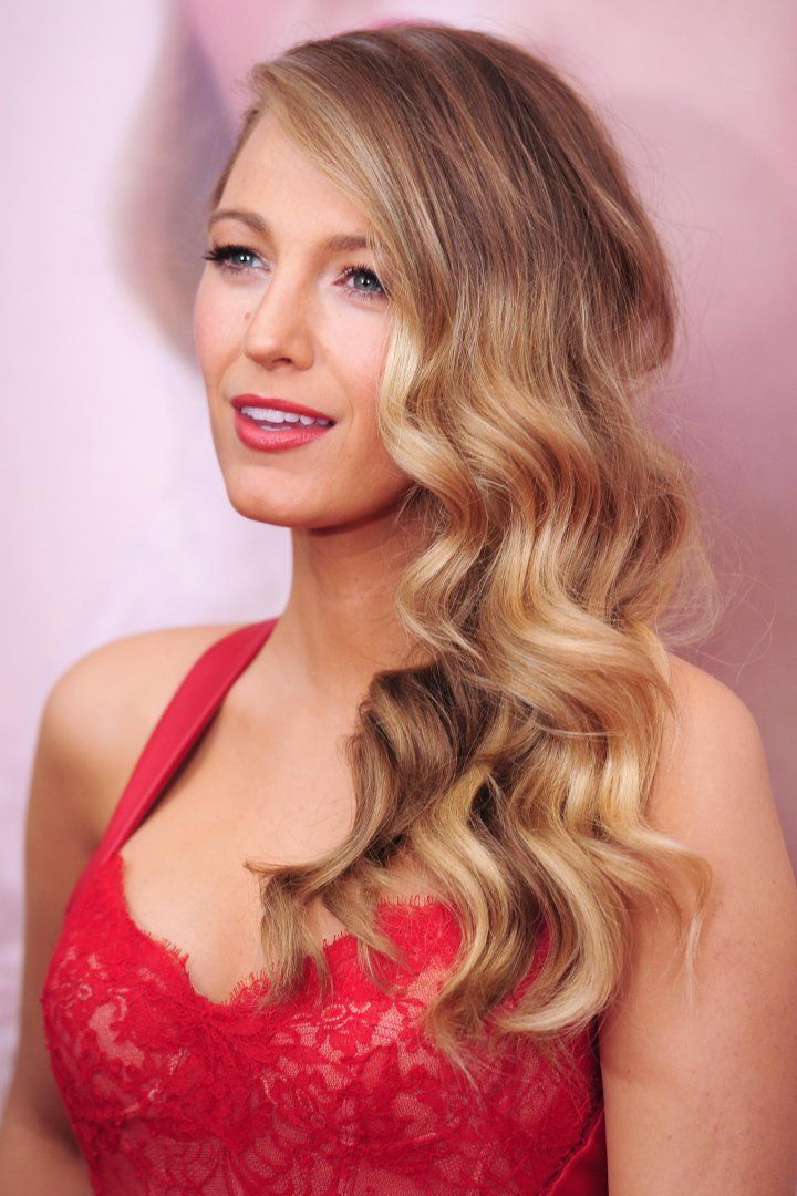 Blake Lively hair dark blonde