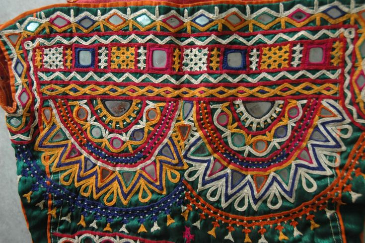 Rabari Embroidery from the collection of Kaka Rashka