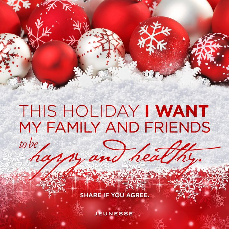 This holiday I want my family and Friends to be happy and healthy. Share if you agree.  -