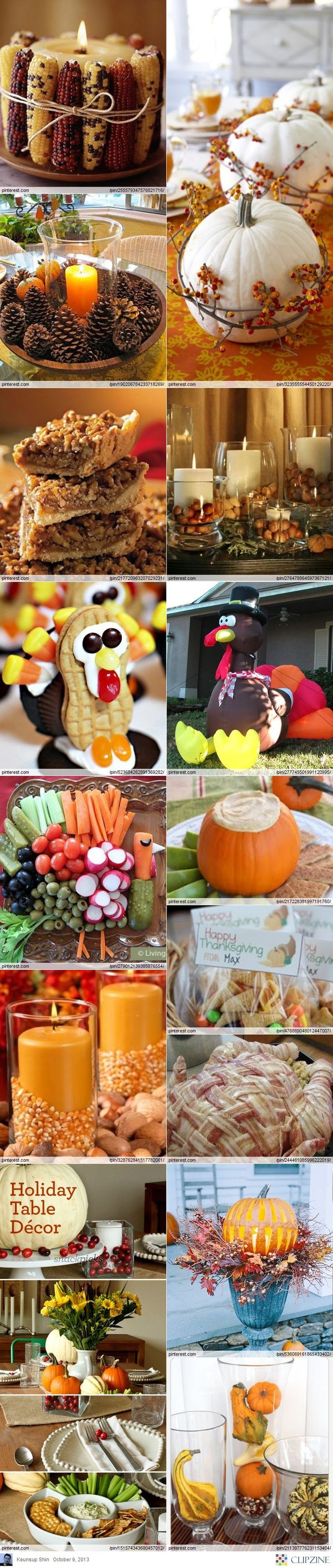 1000 images about thanksgiving on pinterest for Thanksgiving home decorations pinterest
