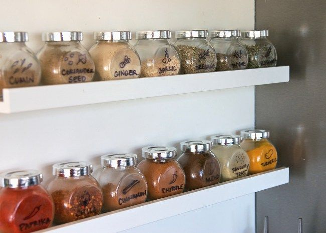 We Made This Simple Steel Shelving Ikea Spice Rack Ikea Spice