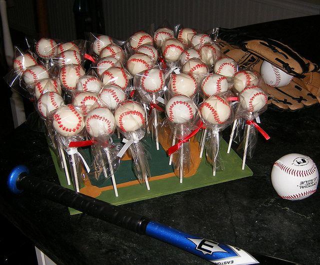 I like the baseball stand: Birthday Cake Pops, Baseball Softball, Baseball Cake Pops, Baseball Stuff, Baseball Cakes, Softball Cake, Cakes Cupcakes Etc, Birthday Party, Birthday Cakes