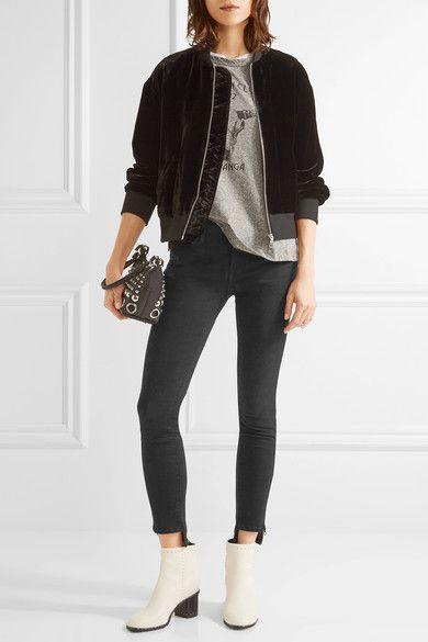 FRAME | Skinny de Jeanne mid-rise jeans | NET-A-PORTER.COM