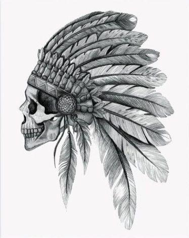 Indien Crâne