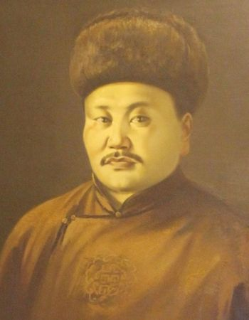 Peljidiin Genden ( 1892 or 1895 –  1937) political leader of the Mongolian People's Republic who served as the country's second president (1924 to 1927) and the ninth prime minister (1932–1936).  Accused of conspiring against the revolution and spying for the Japanese, he was executed in Moscow on November 26, 1937.