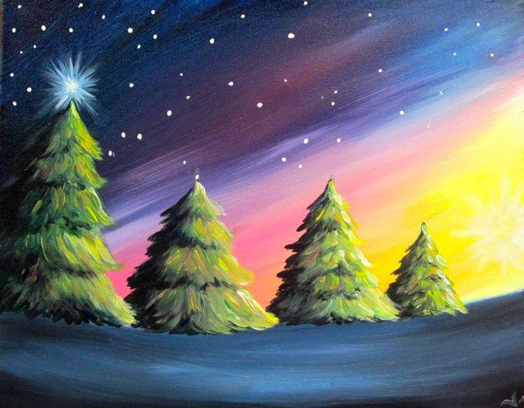 Landscape Art Acrylic Easy