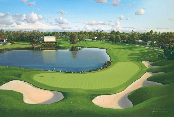 Bay Hill - one of my favorite places in the world- Looking forward to Bay Hill this week and seeing some old friends.