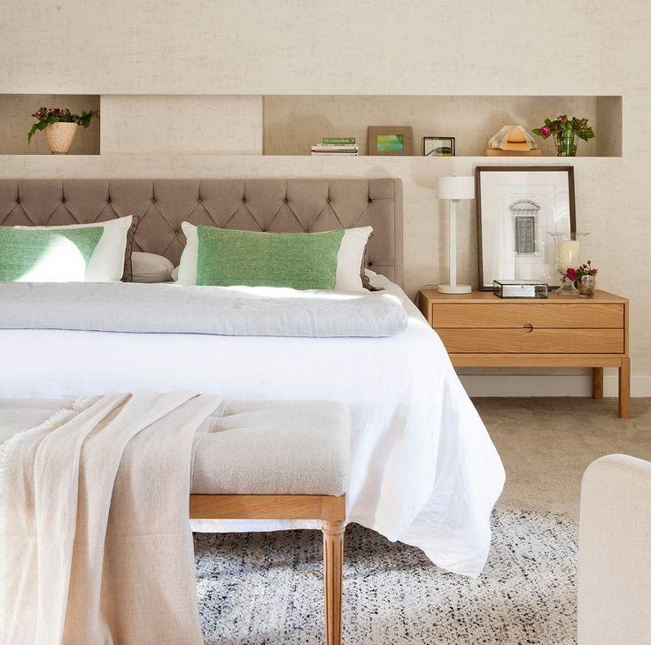 Dormitorio principal zona de descanso dormitorio cabecero