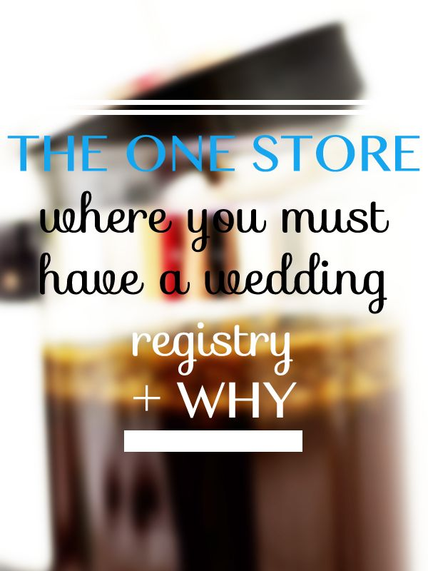 8 best wedding registries images on pinterest wedding for Best store for wedding registry