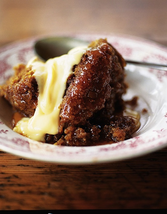 Quick Steamed Treacle Pudding.